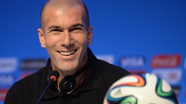 Spanish side, Real Madrid football club now has a new coach in the person of ZINEDINE ZIDANE.