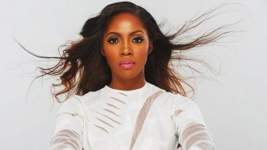 Tiwa Savage Welcomes Baby Boy (Photo)