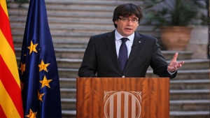 Sacked President of Spain's Catalan Regon Flees to Belgium