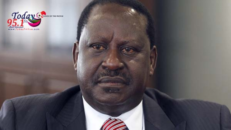 Kenya electoral commission warns opposition claiming victory for Odinga.