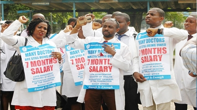 The Federal Government has ordered a mass sack of Resident Doctors of Federal health institutions.