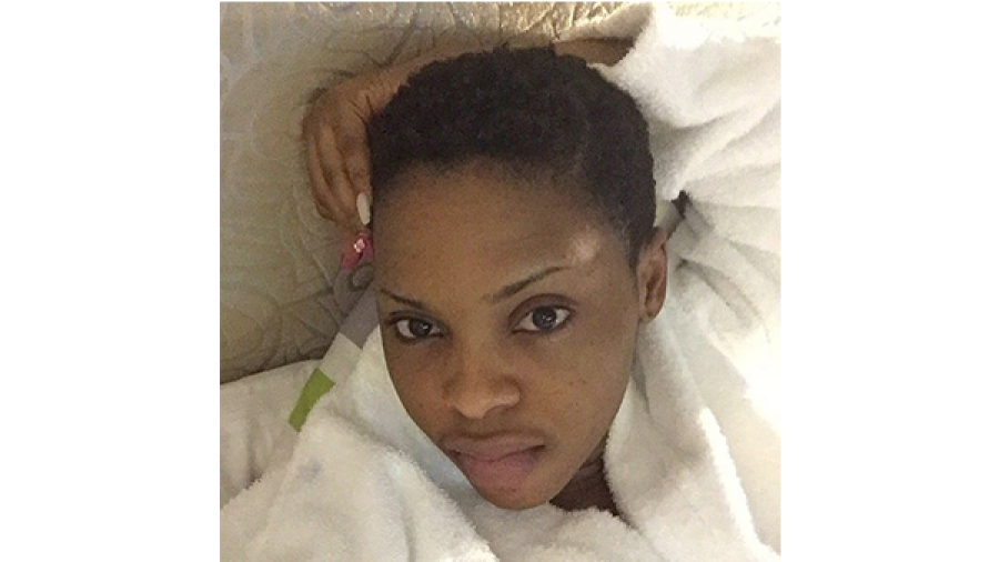 Checkout Another Makeup Free Photo Of Chidinma. It's probable that going natural is the new trend this summer season. Most female celebrities have been going makeup free and sharing photos of their natural faces.