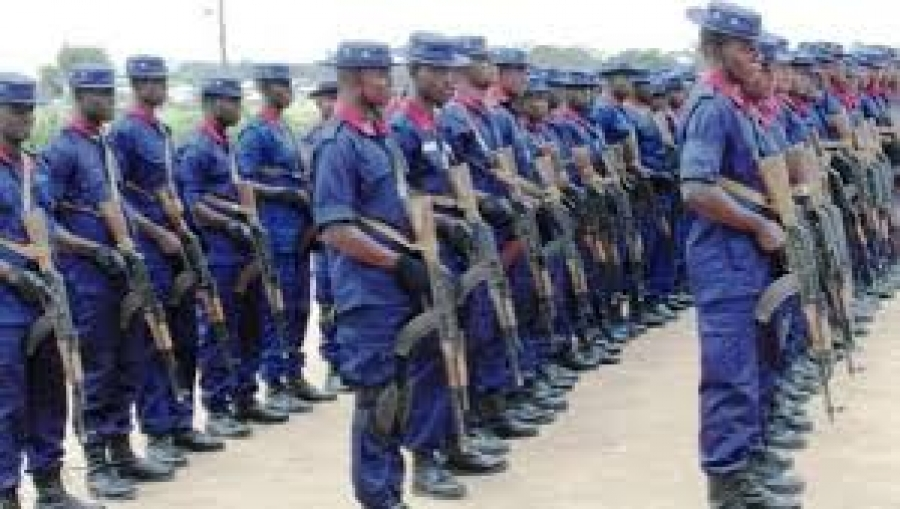 NSCDC JOINS SECURITY OPERATIVES FOR EKITI ELECTION