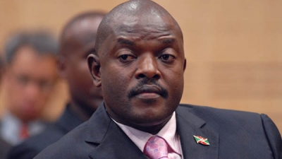 Pres Pierre of Burundi makes visit outside state after two years.