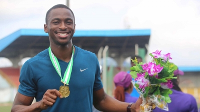 Nigeria's fastest man Seye Ogunlewe has stated his target ahead of the upcoming World Athletics championships in Beijing this month and the All Africa Games in September.