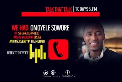 Audio-Omoyele Sowore  of Sahara Reporters Speaks to Today Fm on Burtai Dubai House Scandal-Listen