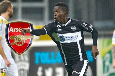 S'Eagles Henry Onyekuru transfer target to Arsenal.