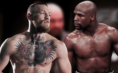 Mayweather dares McGregor for a fight.