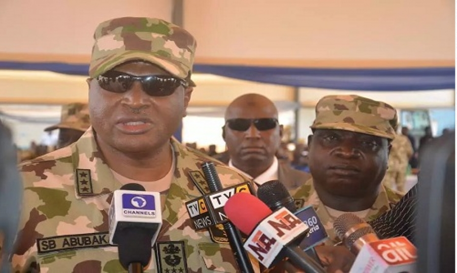 CHIEF OF AIR STAFF SADIQUE ABUBAKAR VISITS NORTH WEST
