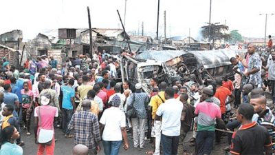 Victims of the recent petrol tanker fire around Iyana-Ipaja area of Lagos have been compensated by the state government.