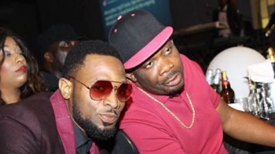 D'banj and Don Jazzy at 2face's Fortified event last night