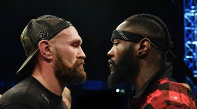 DEONTAY WILDER IN HEATED PRESS CONFERENCE WITH TYSON FURY