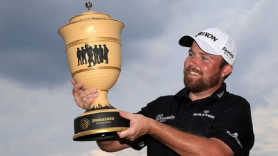 Ireland's Shane Lowry held off the challenge of three major champions to claim the biggest victory of his career at the WGC-Bridgestone Invitational.