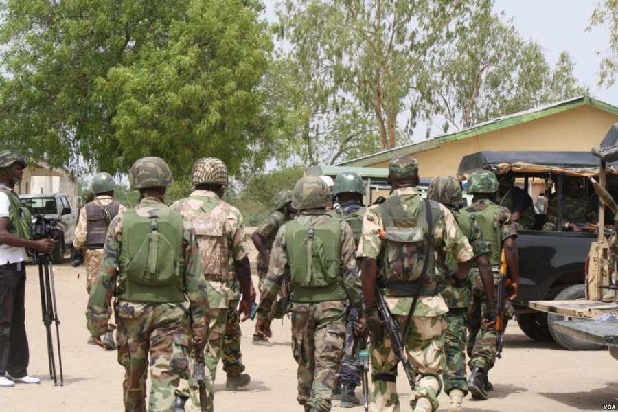 ONE-HUNDRED AND FORTY-EIGHT RESCUED BY THE NIGERIAN ARMY