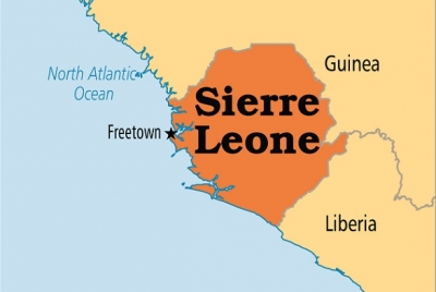 Main opposition challenger in Sierra Leone wins first round of presidential elections
