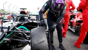 Lewis Hamilton wins British GP with Charles Leclerc in third