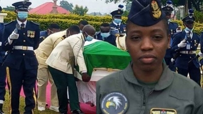 Nigeria Air force to immortalize Tolulope Arotile