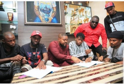 Davido signs Lil Frosh off the street