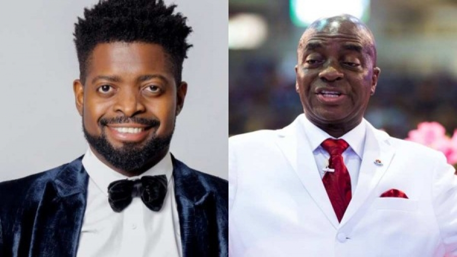 The Church is now threatening us with curse-Basketmouth reacts to Oyedepo's tithe comment