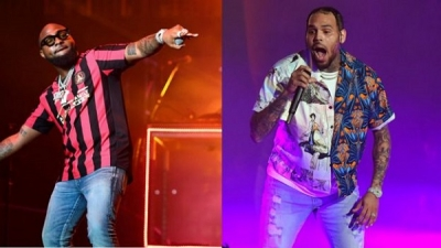 "Chris Brown's new album ""indigo extended"" leaks with Davido featuring in one of the tracks"