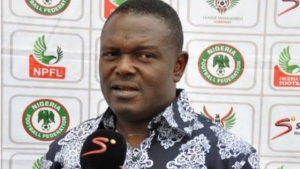Rivers united Manager, Stanley Eguma