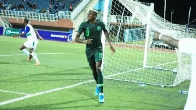 AFCON 2021 Qualifier: Victor Oshimhen shines as Eagles wallop Lesotho's Crocodiles 4-2 to stay top of group