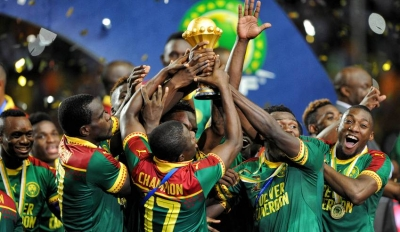 Afcon : Cameroon lifts trophy of  2017 Africa Cup of Nations.