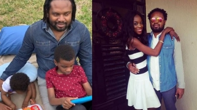 Cobhams Asuquo's first child is visually impaired like him, reveals his Wife