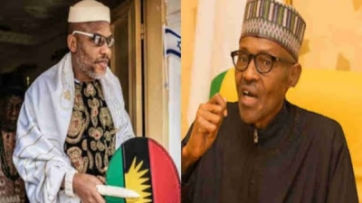 IPOB react as Punch changes Buhari's title from president to General