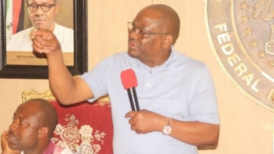 Edo 2020: Gov Wike commends Oba of Benin for his apolitical stance