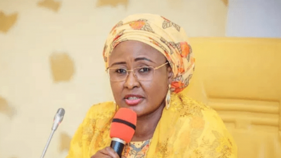 You kind of behaviour will no longer be tolerated; First lady Aisha warns Garba Shehu