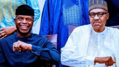 Buhari and Osinbajo have been earning half salaries since 2015 says Presidency