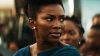 Genevieve Nnaji acting a role in Lionheart
