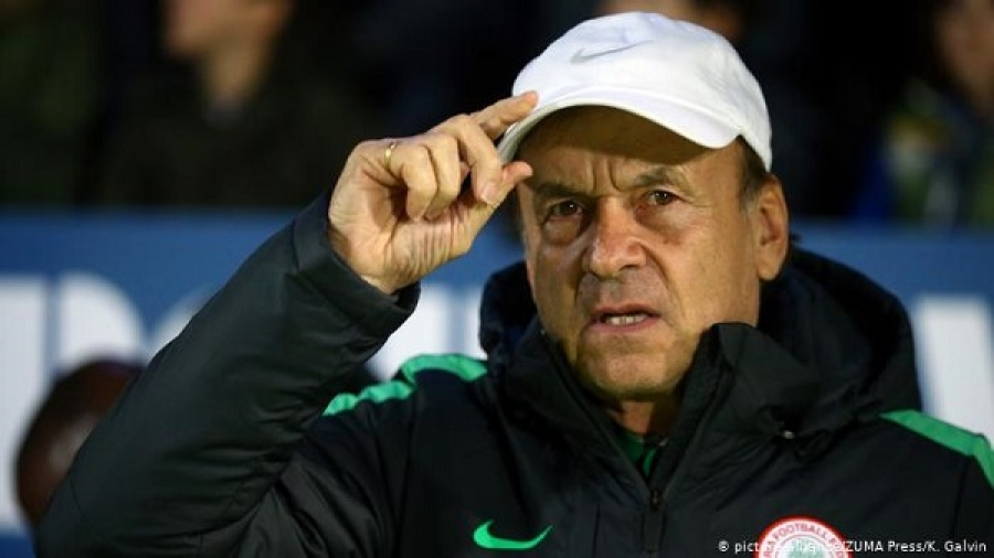 Gernot Rohr's contract extension with NFF stalled