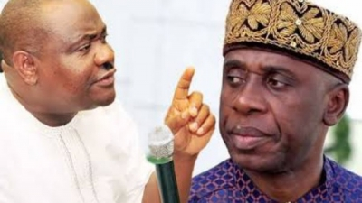 Amaechi is a man of violence-Wike