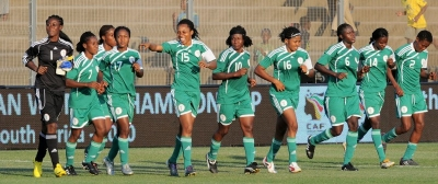 SUPER FALCONS TOUCH DOWN GAMBIA